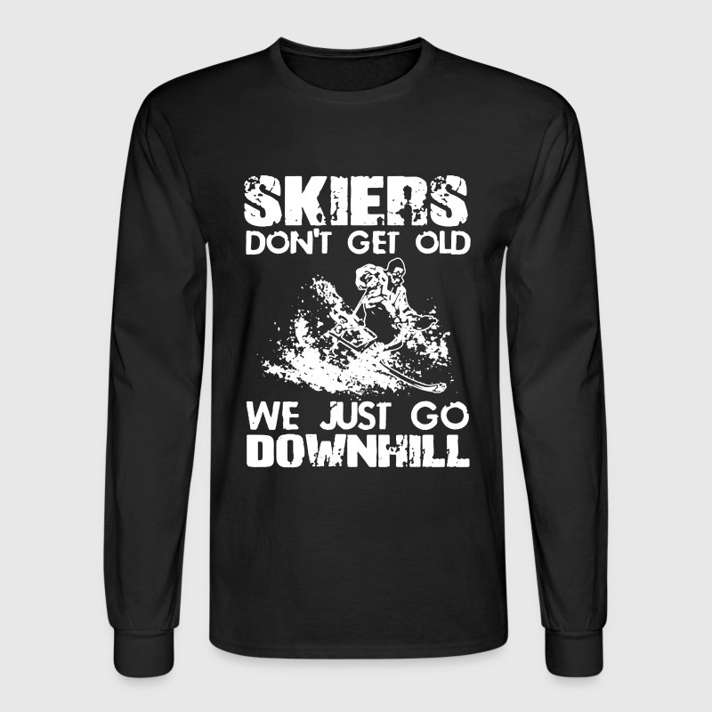 Skiers Shirt - Men's Long Sleeve T-Shirt