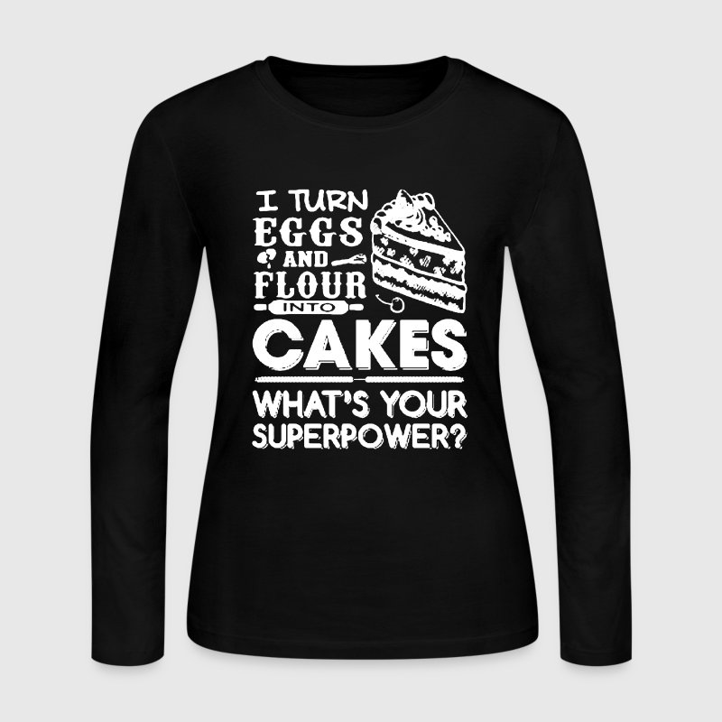 Baker Shirts - Women's Long Sleeve Jersey T-Shirt