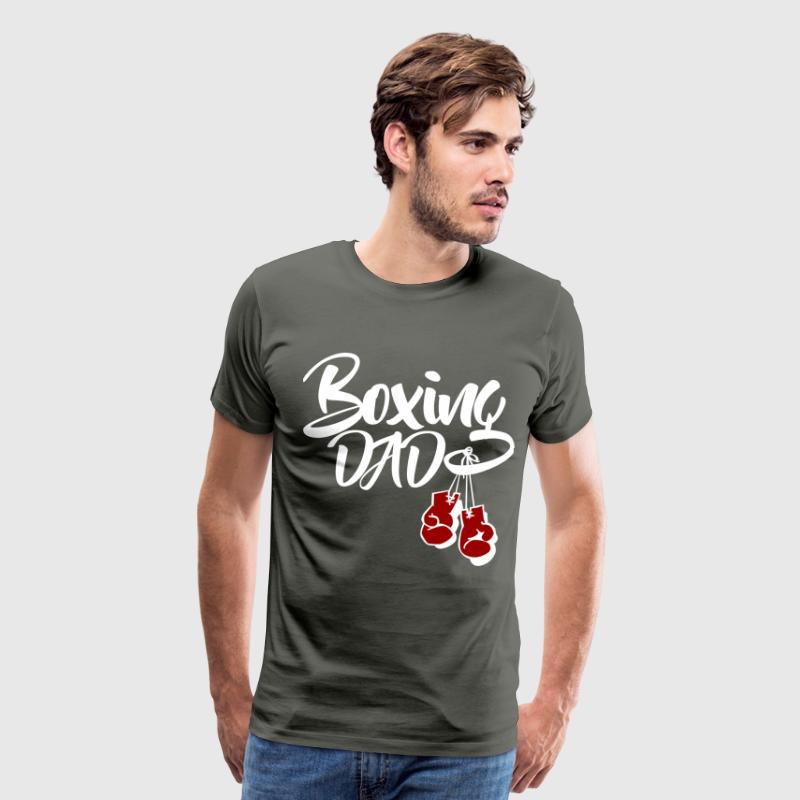 Boxing Dad T-Shirts - Men's Premium T-Shirt