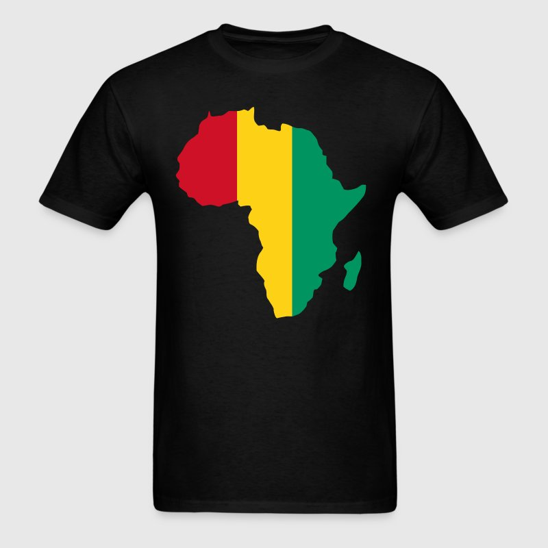 Guinea Conakry Flag In Africa T-Shirt - Men's T-Shirt