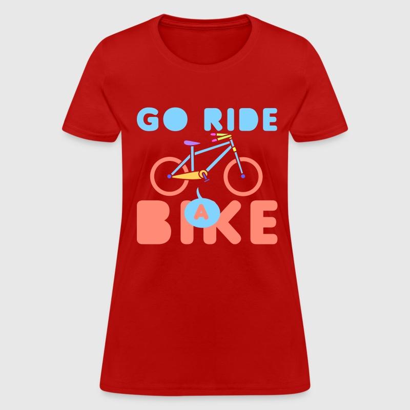 Go Ride A Bike T Shirt Spreadshirt