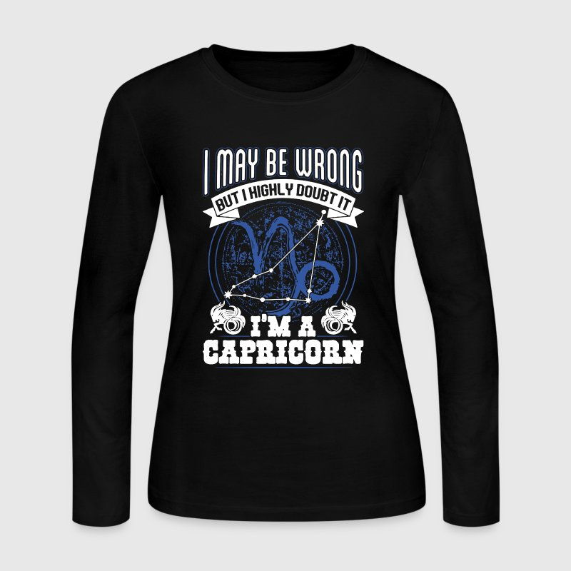 Proud Capricorn Shirt - Women's Long Sleeve Jersey T-Shirt