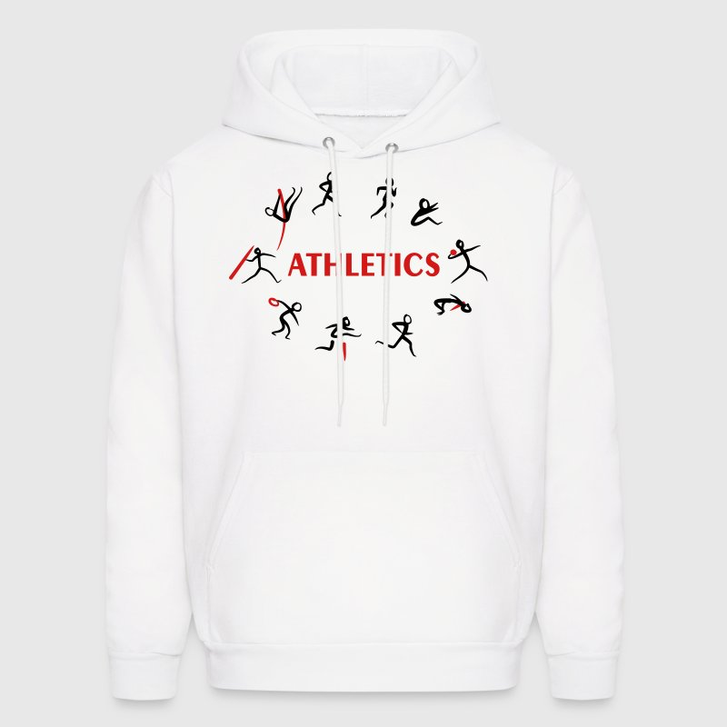 Athletics, Track and Field, Decathlon Hoodies - Men's Hoodie
