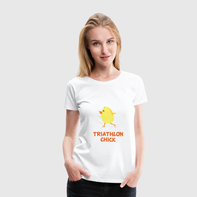 Triathlon Chick - Women's Premium T-Shirt