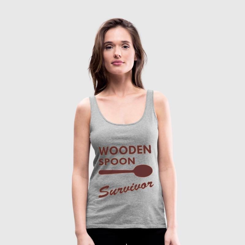 Wooden Spoon Survivor  - Women's Premium Tank Top