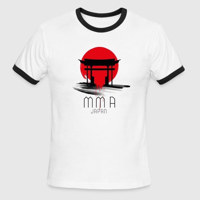 MMA JAPAN T-Shirts - Men's Ringer T-Shirt