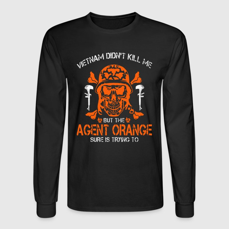 Agent Orange Shirt - Men's Long Sleeve T-Shirt