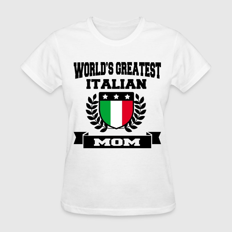ITALIAN MOM 6.png T-Shirts - Women's T-Shirt