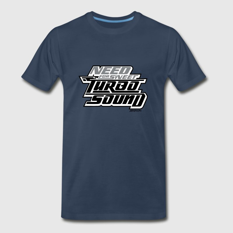 Need For Sweet Turbo Sound T-Shirts - Men's Premium T-Shirt