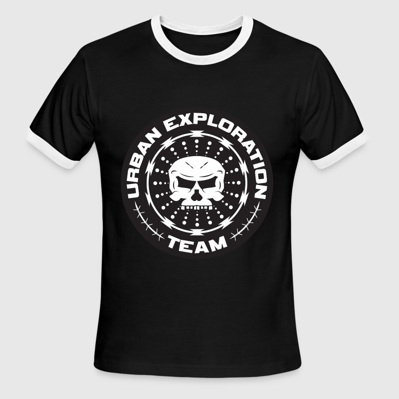 TEAM URBAN EXPLORATION T-Shirts - Men's Ringer T-Shirt