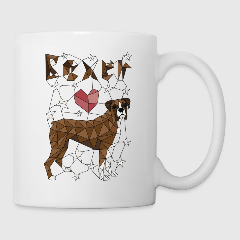 Geometric Boxer Mugs & Drinkware - Coffee/Tea Mug