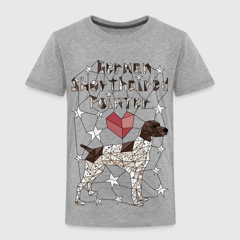 Geometric German Shorthaired Pointer Baby & Toddler Shirts - Toddler Premium T-Shirt