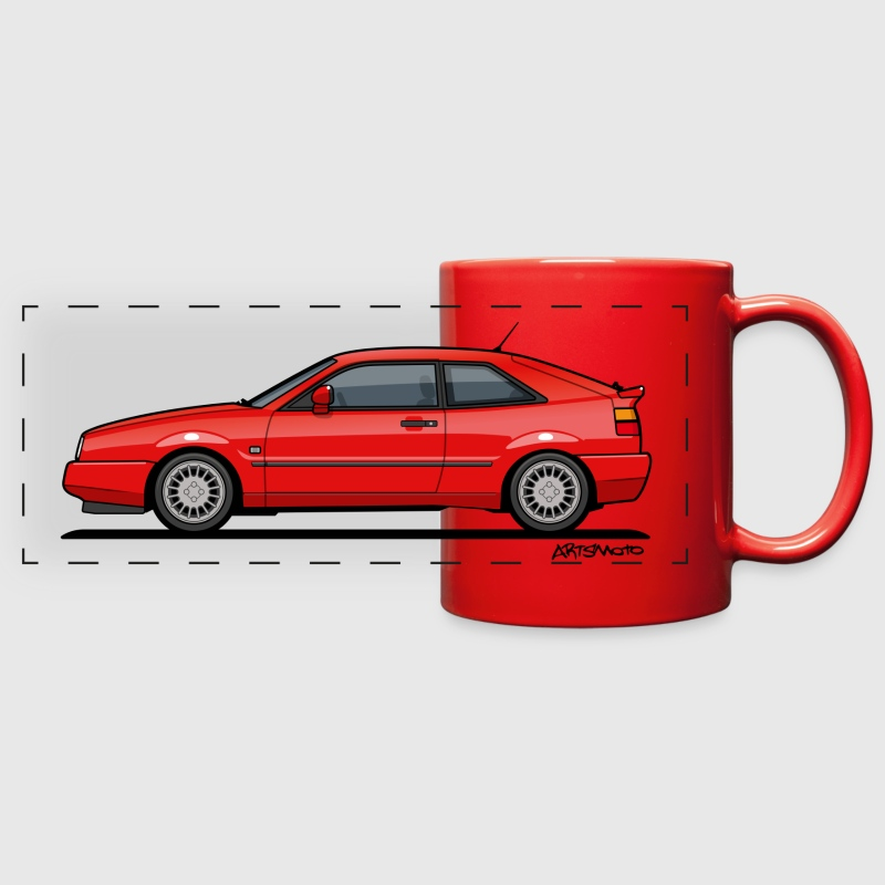 Corrado G60 Red Mugs & Drinkware - Full Color Panoramic Mug