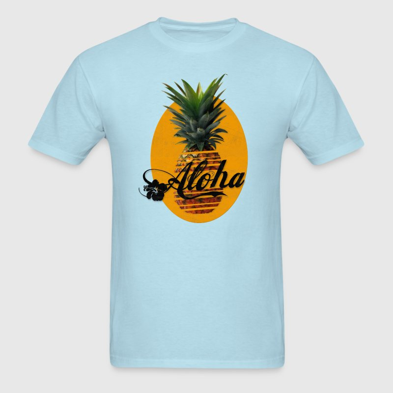 Pineapple Aloha Hawaii Usedlook T-Shirts - Men's T-Shirt