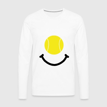Tennis Smile - Men's Premium Long Sleeve T-Shirt