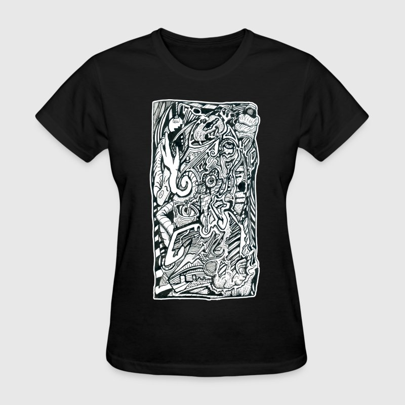 Anxiety Attack by Brian Benson, Women's Tri-blend - Women's T-Shirt