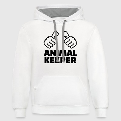 Animal keeper T-Shirts - Contrast Hoodie