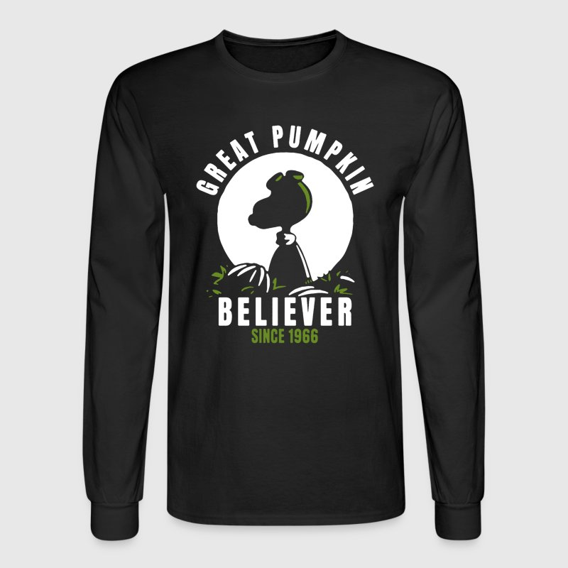 Great Pumpkin Believer - Men's Long Sleeve T-Shirt