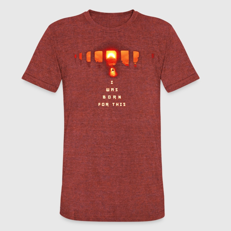 Journey - Born For This - Unisex Tri-Blend T-Shirt