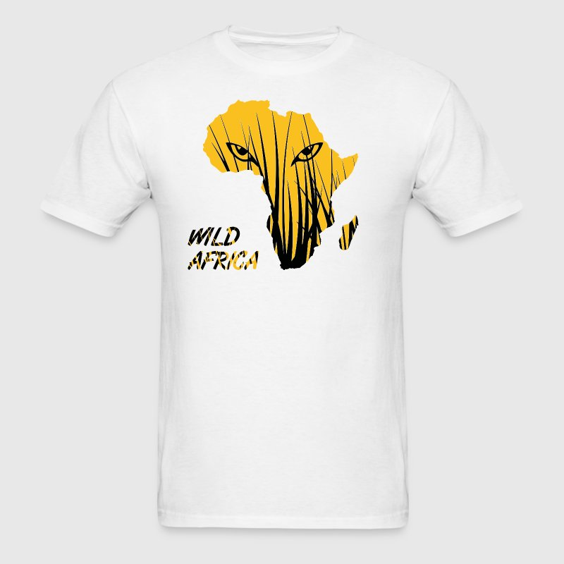 Africa Map African Safari T-Shirt - Men's T-Shirt
