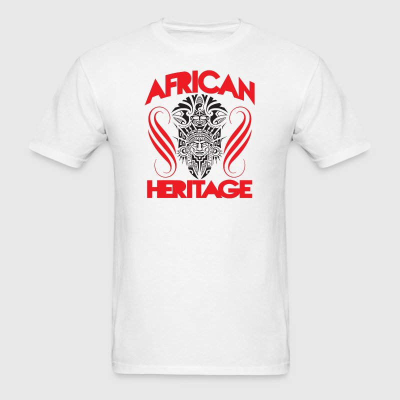 African Tribal Mask T-Shirt - Men's T-Shirt