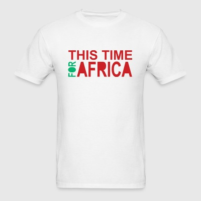 This Time For Africa Waka-waka - Men's T-Shirt