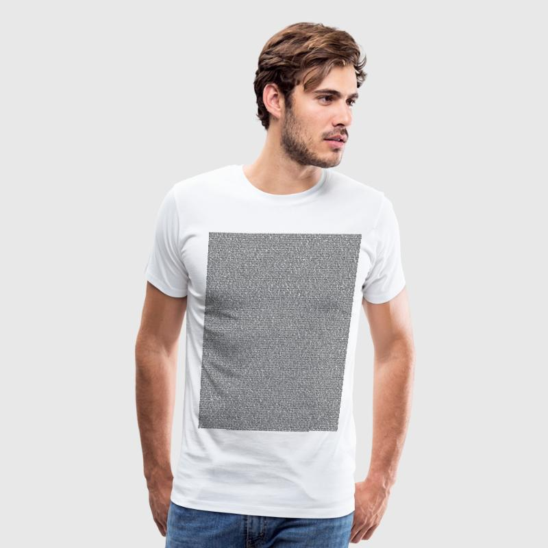Bee a Movie script body Text for light shirt - Men's Premium T-Shirt