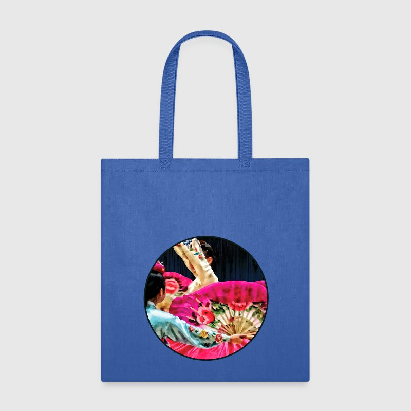 Traditional Korean Fan Dance Bags & backpacks - Tote Bag