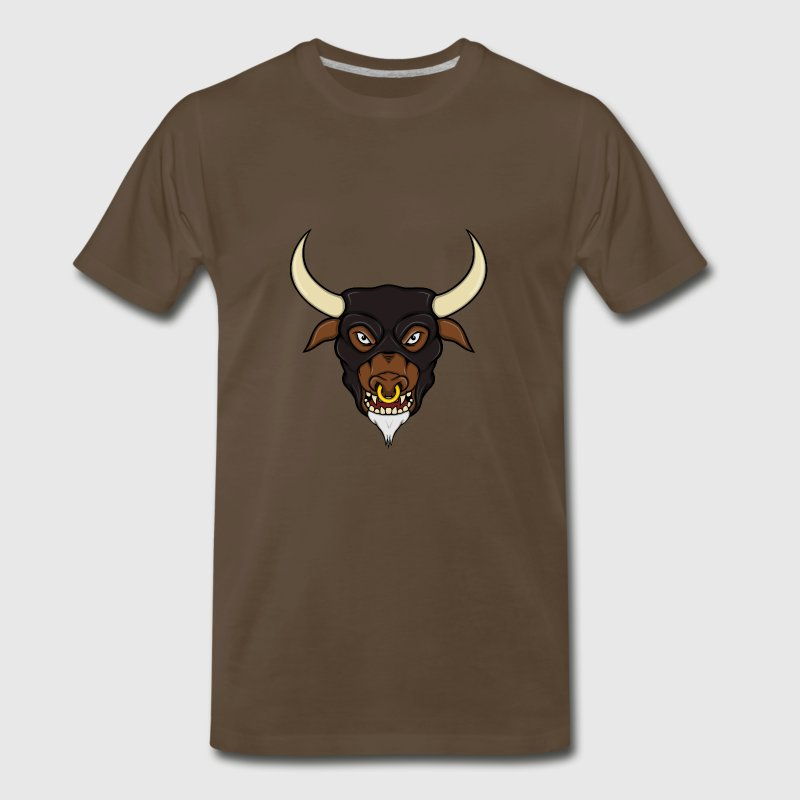 Minotaur Head T-Shirts - Men's Premium T-Shirt