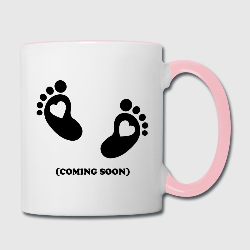 Baby - coming soon Mugs & Drinkware - Contrast Coffee Mug