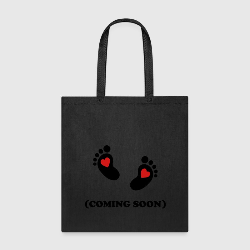 Baby footprint - coming soon Bags & backpacks - Tote Bag