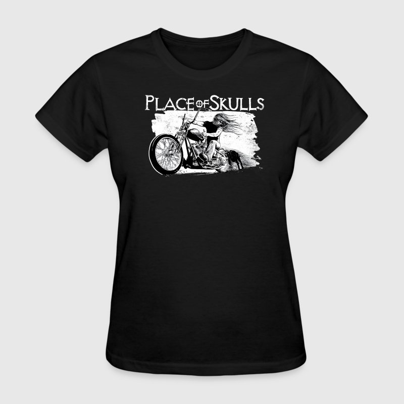 Place of Skulls - Biker(shirt) T-Shirts - Women's T-Shirt