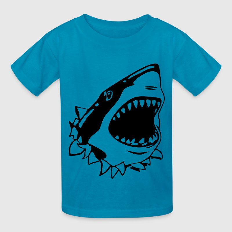 Great White Shark Kids' Shirts - Kids' T-Shirt