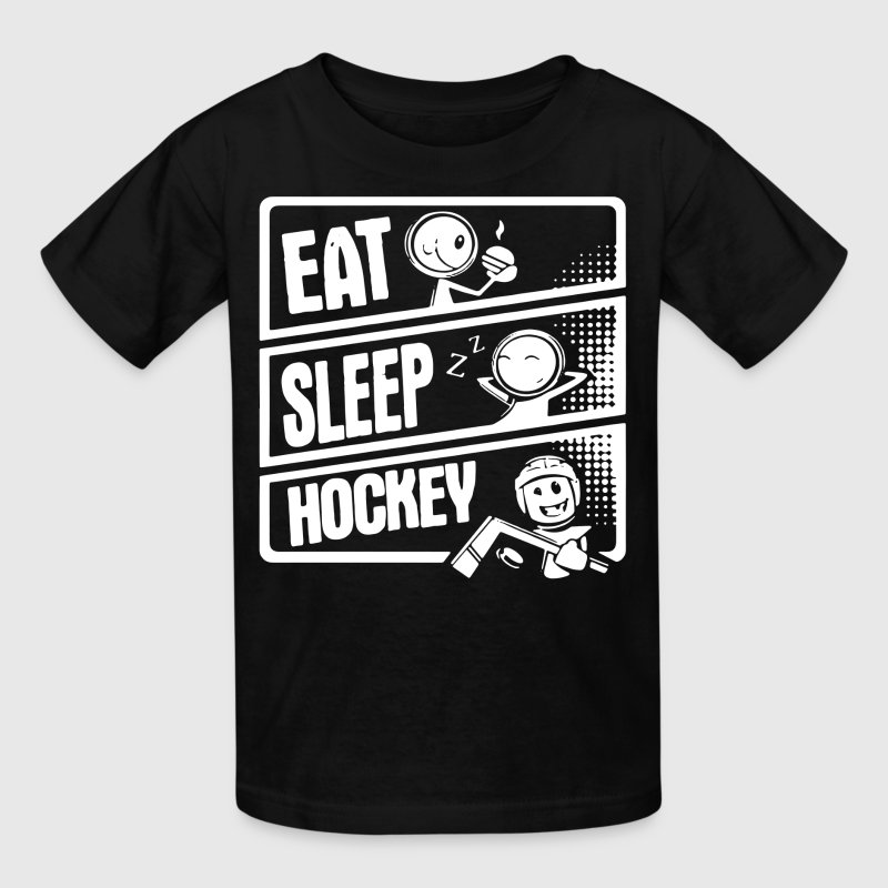 V3 Eat Sleep Hockey Kids' Shirts - Kids' T-Shirt