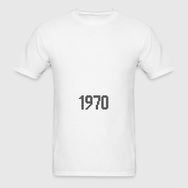 1970, Numbers, Year, Year Of Birth Sportswear - Men's T-Shirt
