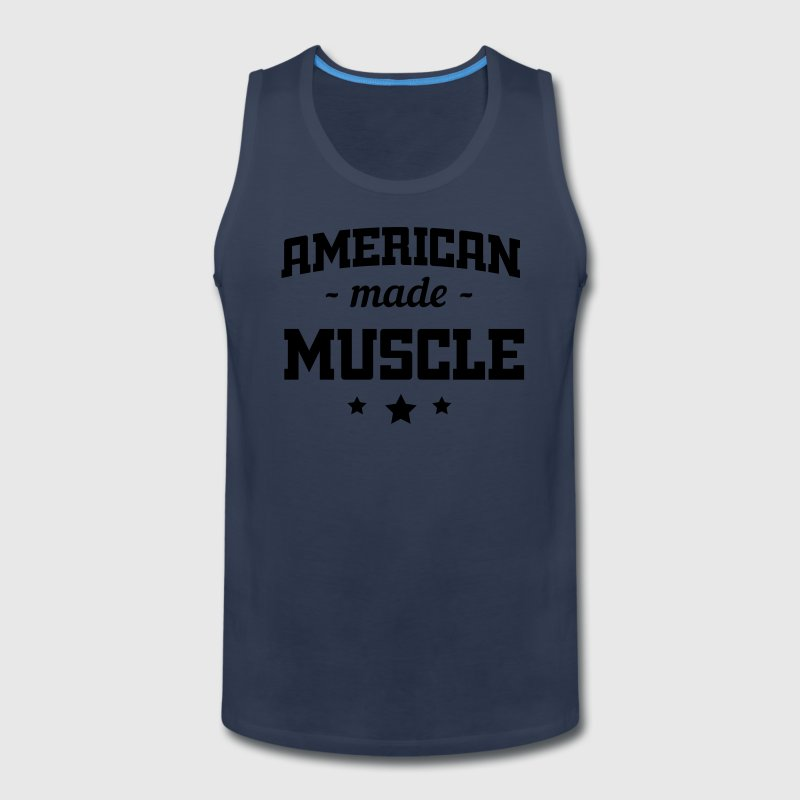 American Made Muscle Sportswear - Men's Premium Tank