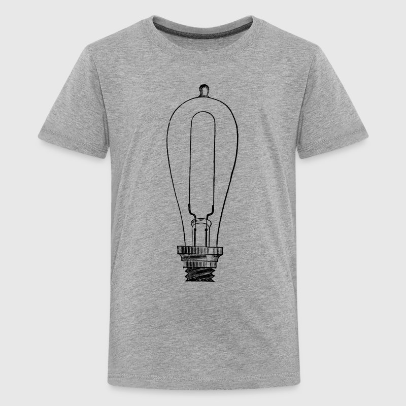 Edison Light Bulb Kid's T-Shirt - Kids' Premium T-Shirt