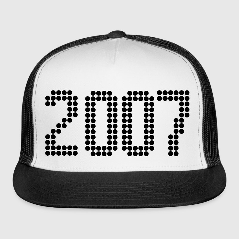 2007, Numbers, Year, Year Of Birth Sportswear - Trucker Cap
