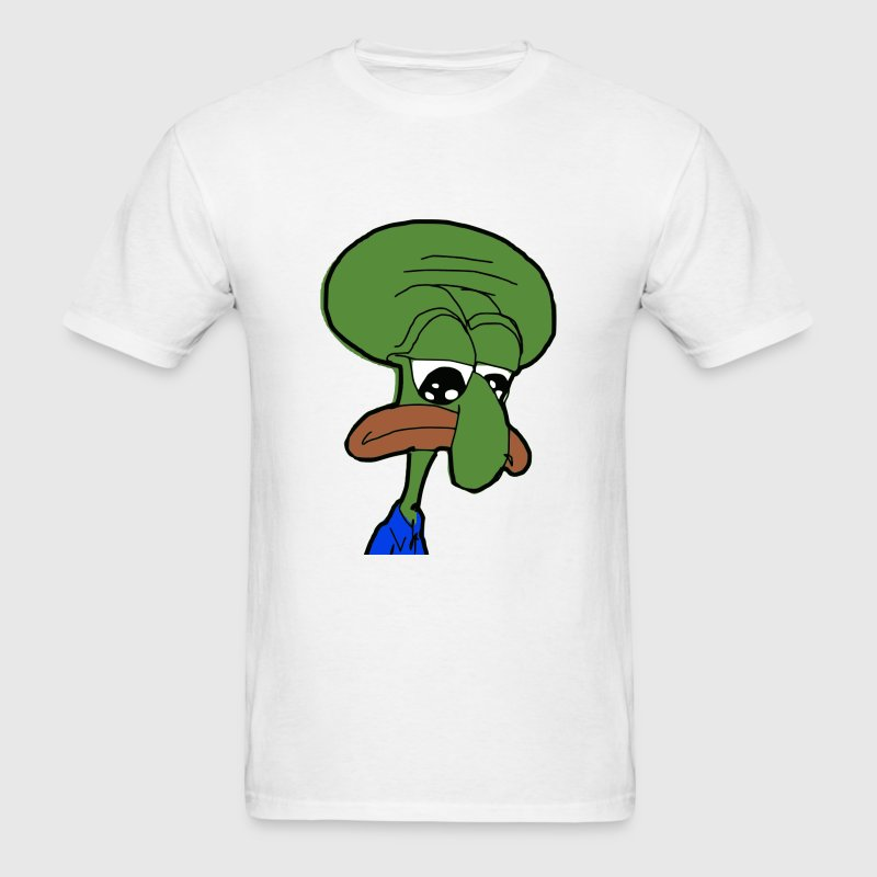 Squidward Pepe - Men's T-Shirt