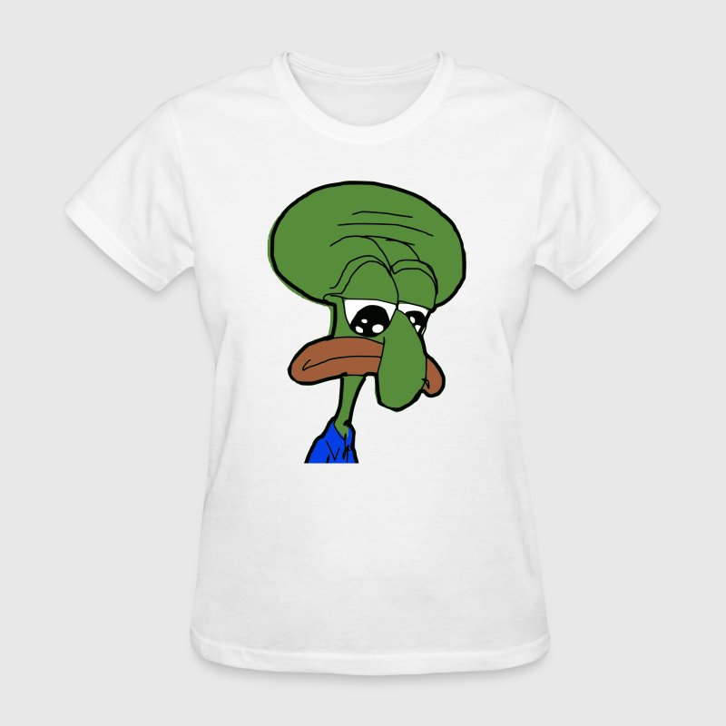 Squidward Pepe - Women's T-Shirt