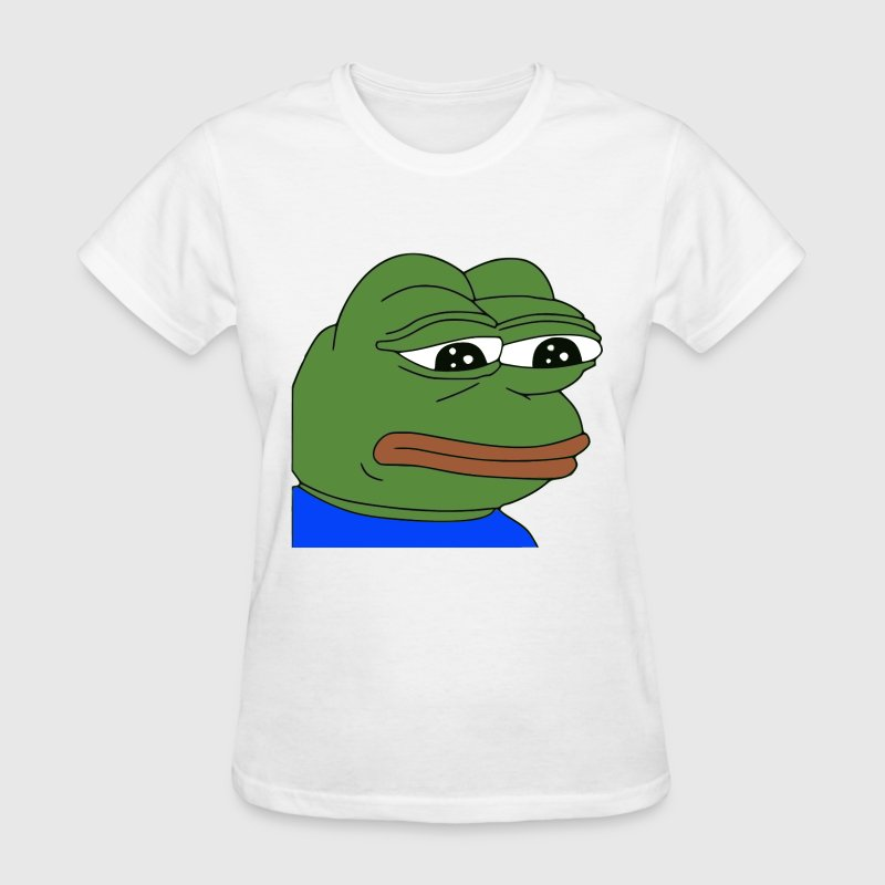 Sad Pepe - Women's T-Shirt