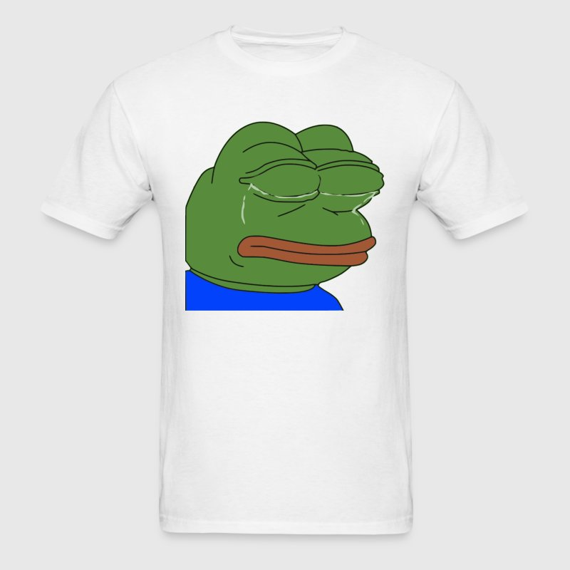 Crying Pepe - Men's T-Shirt