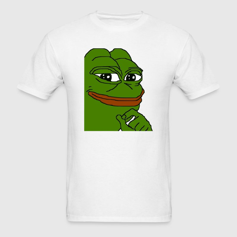 Smug Pepe - Men's T-Shirt