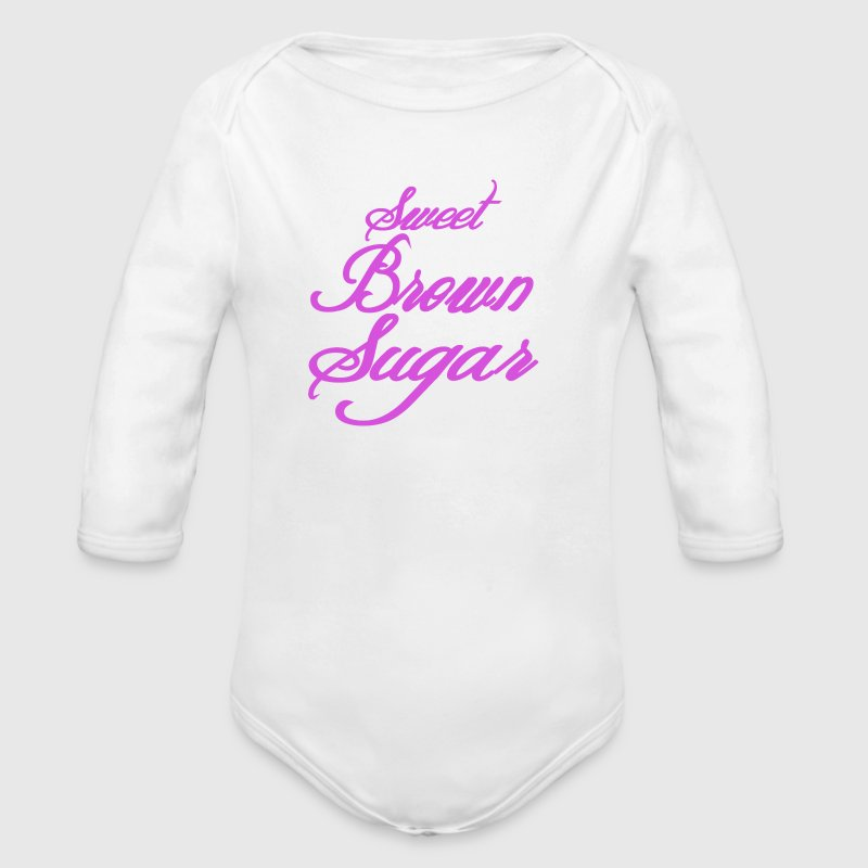 Sweet-Brown-Sugar Baby Bodysuits - Long Sleeve Baby Bodysuit