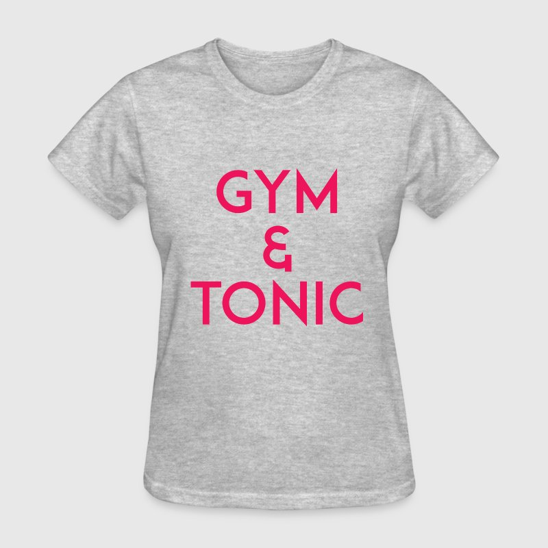 Gym and Tonic Pink T-Shirts - Women's T-Shirt