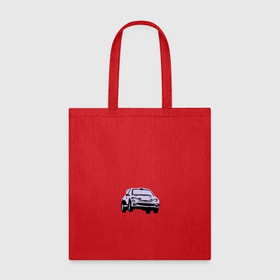 Rally car, racing car Mugs & Drinkware - Tote Bag