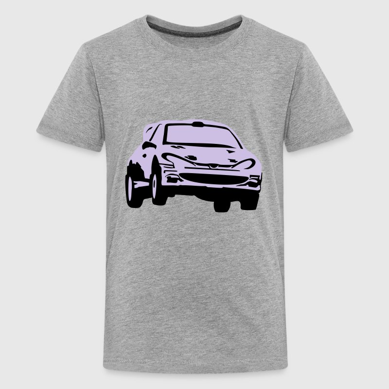 Rally car, racing car Kids' Shirts - Kids' Premium T-Shirt
