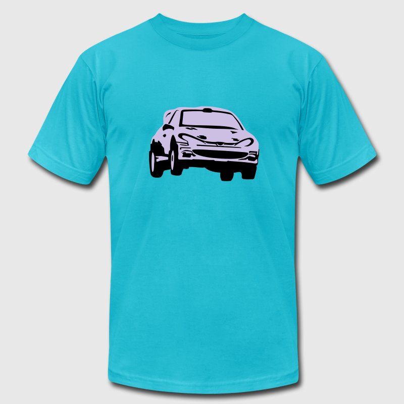 Rally car, racing car T-Shirts - Men's T-Shirt by American Apparel