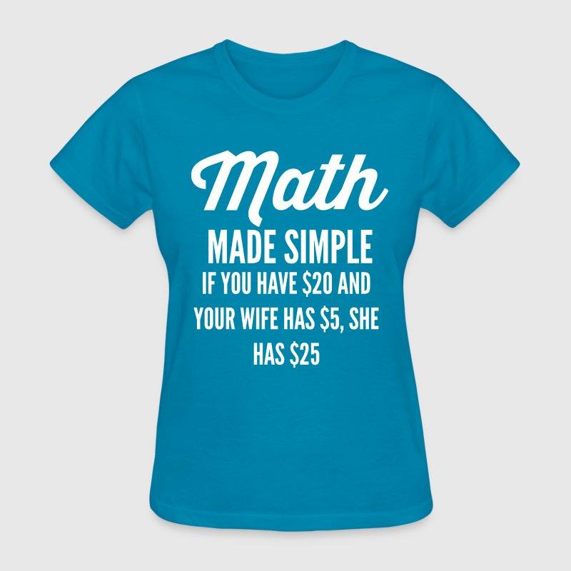 math-made-simple-t-shirt--png.png T-Shirts - Women's T-Shirt