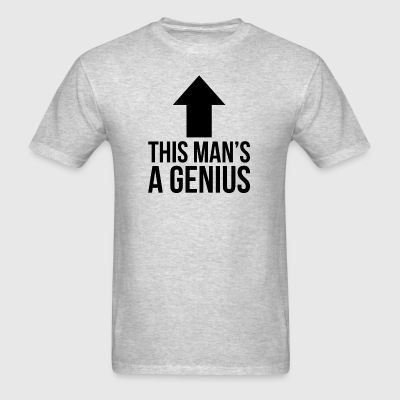This Man's A Genius Sportswear - Men's T-Shirt